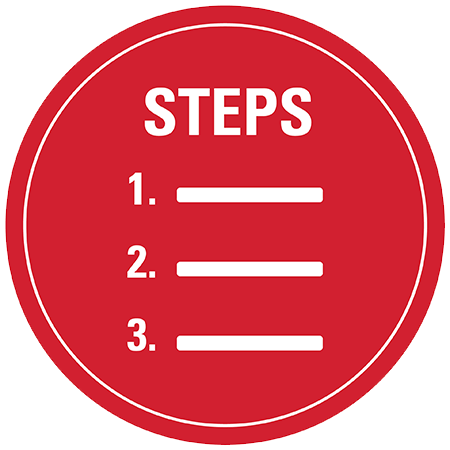Steps for new students